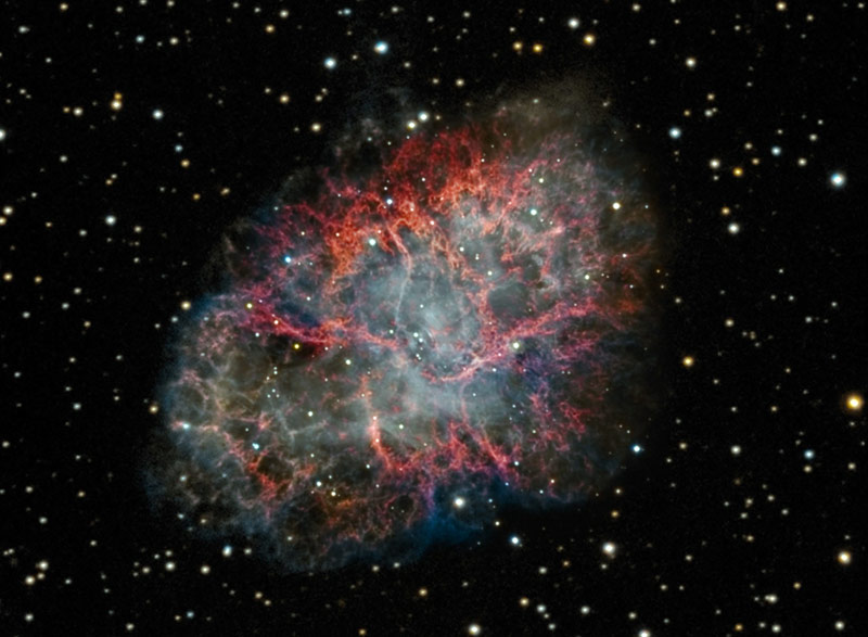distance to the crab nebula - photo #28